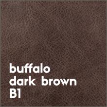 buffalo dark brown B1