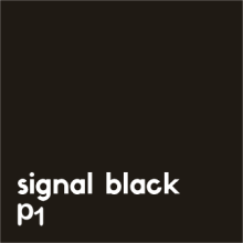 signal black P1