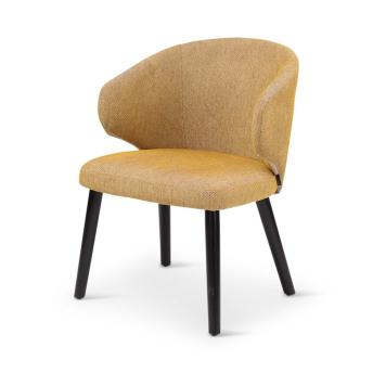 ANA low dining, round wooden legs