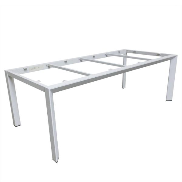 CARLO table base 220 ice alu